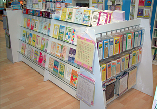 bookshelves display for stores and home