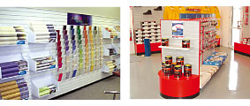 shopfitting display units for shops