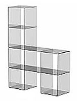 stackable glass panels